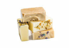 Natural soaps isolated Stock Photo