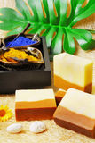 Natural soaps Royalty Free Stock Images