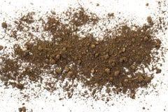 Natural soil texture Royalty Free Stock Image