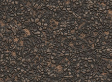 Natural solid rock uneven surface texture Stock Photography