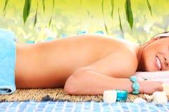 Natural spa Stock Image