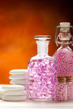 Natural Spa - aromatherapy minerals Royalty Free Stock Photos