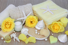 Natural Spa Beauty Products royalty free stock photos