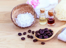 Natural Spa Ingredients . Royalty Free Stock Photo