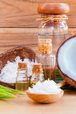 Natural Spa Ingredients . Royalty Free Stock Photo