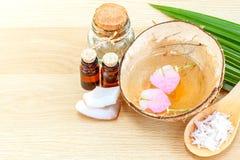 Natural Spa Ingredients . Stock Photos