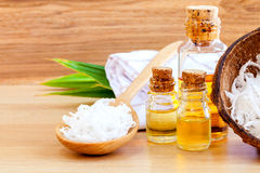 Natural Spa Ingredients . Stock Photo