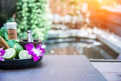 Natural Spa stock images