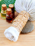 Natural Spa Ingredients . Royalty Free Stock Photography