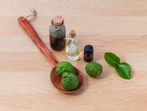 Natural Spa Ingredients . Royalty Free Stock Photos