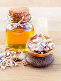 Natural Spa Ingredients . Royalty Free Stock Images