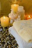 Natural spa producten Royalty-vrije Stock Foto