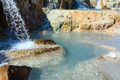 Natural spa Saturnia θερμικά λουτρά, Ιταλία Στοκ εικόνα με δικαίωμα ελεύθερης χρήσης