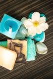 Natural spa setting Royalty Free Stock Image
