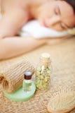 Natural spa tools Stock Image