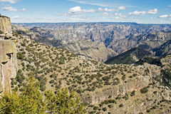 Natural splendor of the Copper Canyon Royalty Free Stock Photo