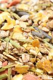 Natural sportive  muesli background. for horse.macro Royalty Free Stock Image