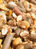 Natural sportive  muesli background. for horse. Stock Images