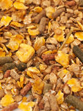 Natural sportive  muesli background for horse Royalty Free Stock Photos