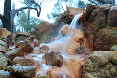 Natural Springs, Continuous Flow Stock Photos