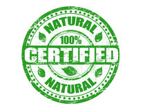 Natural stamp Stock Image