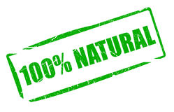 Natural stamp Royalty Free Stock Photos