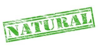 Natural green stamp Stock Photo