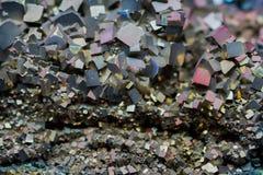 Natural stone crystals Royalty Free Stock Photos