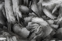 Natural stone crystals Royalty Free Stock Image