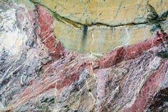 Natural stone figure Stock Photos