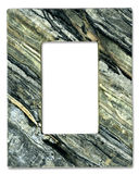 Natural Stone Frame. Border design including clipping path Stock Photography