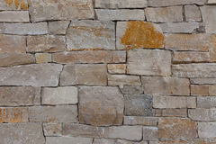 Natural stone granite brick wall pattern background, contemporar Stock Photos