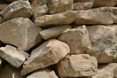Natural stone heap Royalty Free Stock Photos