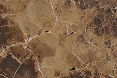 Natural stone marble brown color with an interesting pattern, called Emperador Light