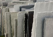 Natural stone panels Royalty Free Stock Photography