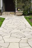 Natural stone path Stock Photography