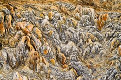 Natural stone pattern Shallow Depth of Field royalty free stock photography