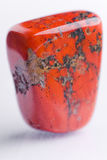 Natural stone red jasper Royalty Free Stock Photography
