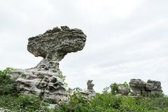 Natural stone sculptures Stock Images