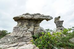 Natural stone sculptures Stock Photo