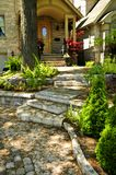 Natural stone steps Stock Image