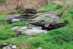 Natural stone steps Royalty Free Stock Photo