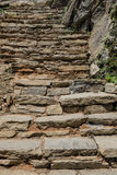 Natural stone steps Royalty Free Stock Image