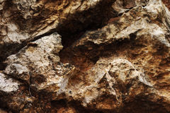 Natural stone structure. Royalty Free Stock Photo