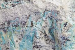 Natural stone texture.Abstract black, white and turquoise backg stock image