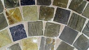 Natural stone tile floor Royalty Free Stock Photos