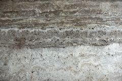 Free Natural Stone Travertine Gray-beige With Parallel Stripes Is Called Travertino Titanium Royalty Free Stock Images - 141951639