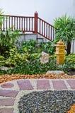 Natural stone walkway decorative Stock Photos