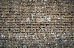 Natural stone wall Stock Photo