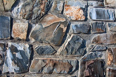 Natural stone wall background Royalty Free Stock Photo